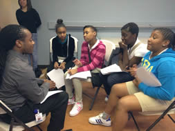 Teens learn about financial literacy from Capital One